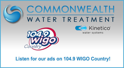 Listen for our ads on 104.9 WIGO Country!